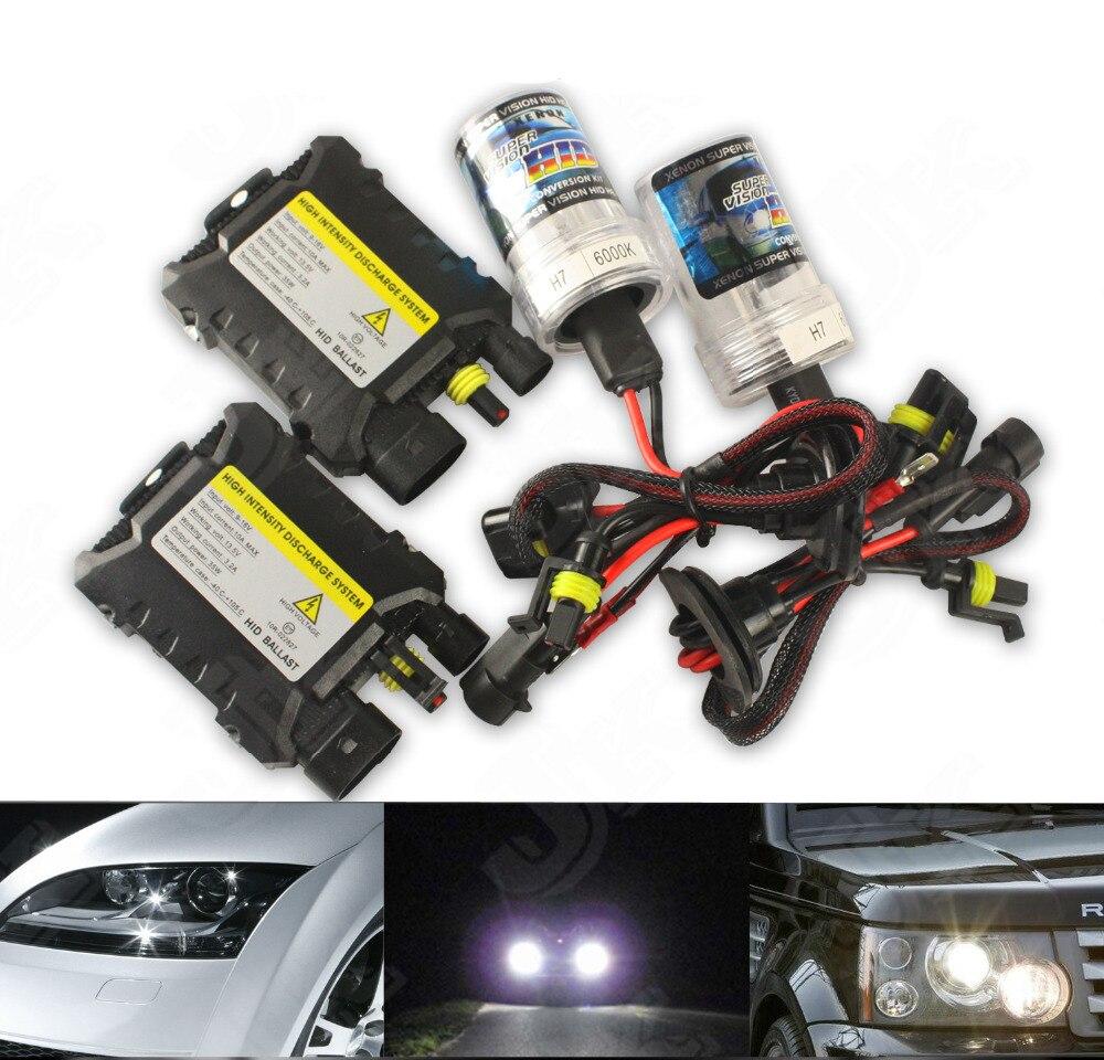12V 55W XENON HID KIT HEADLIGHT SLIM BALLAST Bulbs 3000K ~15000K light For Camaro Captiva Sport Cruze Equinox Impala Sonic Spark<br><br>Aliexpress