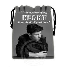 Unique Design Custom Shawn Mendes #2 drawstring bags for mobile phone tablet PC packaging Gift Bags18X22cm SQ00715-@H0332