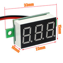 High Quality DC 4-32V LCD Digital Voltmeter Ammeter Voltimetro Red LED Amperimetro Volt Meter Gauge voltage Meter