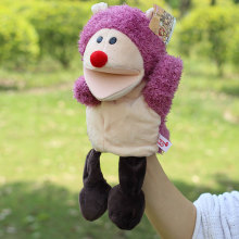 Hot Sale Plush Puppet Toys Hedgehog Hand Puppets Doll Parent-child Interactive Games Toys Best Birthday Christmas Gifts