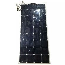 Promotion high performance100W 12V Black or white Solar Panel Generator Power Mono Charging