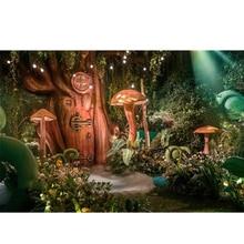 Лесные эльфы, грибы, Алмазный Вышивка, мозаика, настенные Аксессуары, DIY, горный хрусталь, паста, алмаз живопись, стежка, животных,(China)