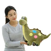 2016 New Arrival Creative Cartoon Colorful Dinosaur Plush Toy Adorable Doll Baby Best Gifts Christmas Gifts YZT0183