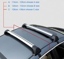New Car Roof Rack Car Top Racks Cross Bar No Drilling Required Universal Aluminium-Alloy With Lock Z2AAE026