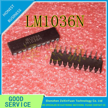 5PCS/LOT LM1036N LM1036 DIP-20 TWO CHANNEL DC CONTROL VOLUME, VOLUME, BALANCE CIRCUIT NEW(China)