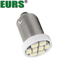 EURS 10PCS Brand New LED Interior Light 3020 8smd Wedge Auto Reading Dome Lamps Car Marker Light T4W BA9S 8 SMD