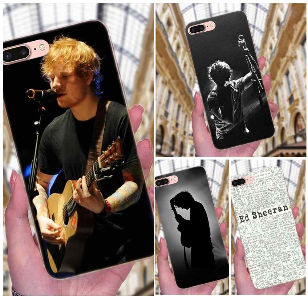 Мягкий модный чехол Pop Singer Star Ed Sheeran для Apple iPhone 4 4S 5 5C 5S SE 6 6S 7 8 Plus X XS Max XR