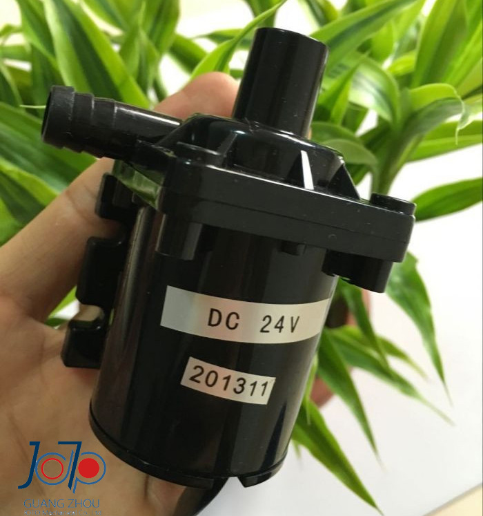 DC24V 10L/mn 5m Engineering Plastic All-silent Micro Brushless Submersible Water Cooled Circulating Pump Shower Pump(China (Mainland))