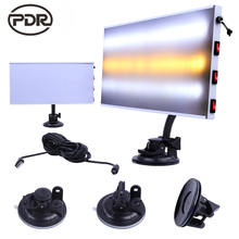 PDR Tools Dent Removal Car Dent Repair LED Lamp Reflector Board LED Light Reflection Board with Adjustable Holder(China)