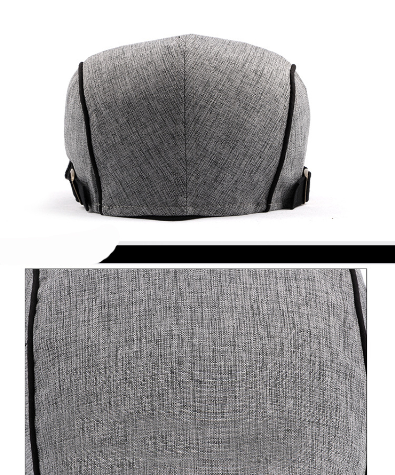 قبعة النمط الغربي للرجال 5