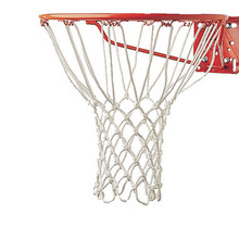 Hot Sale Champion Sports 5mm Deluxe Non Whip Replacement Basketball Net Durable Rugged Nylon Hoop Goal Rim Mesh Net Sport(China)