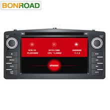 Octa Core T8 Android 7.1.2 2Din Car DVD Player ForCorolla E120 2003-2006 Car Multimedia For BYD F3 DDR3 2G RAM Radio(China)