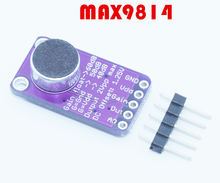 5pcs/lot CFSUNBIRD Electret Microphone Amplifier Stable MAX9814 Auto Gain Control for Arduino