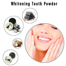 Pure Activated Coconut Charcoal Whitening Tooth Powder