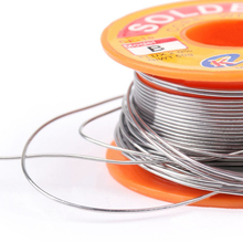 Good Solderability Solder 63/37 0.8mm 50g Tin Content Lead Rosin Core Solder Flux 2.0% Soldering Welding Iron Wire Reel Mayitr(China)