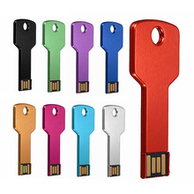 TWOBRO Waterproof Key Pen drive USB Flash Drive 4GB 8GB 16GB Key Pendant Keychain Pendrive 32GB 64GB Memory Stick 1GB 2GB U Disk
