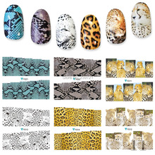 Limited 50% OFF Minx Nail Sticker 6PCS Sexy Leopard Nail Art Decoration Tools Very Beautiful Personality Water Decals