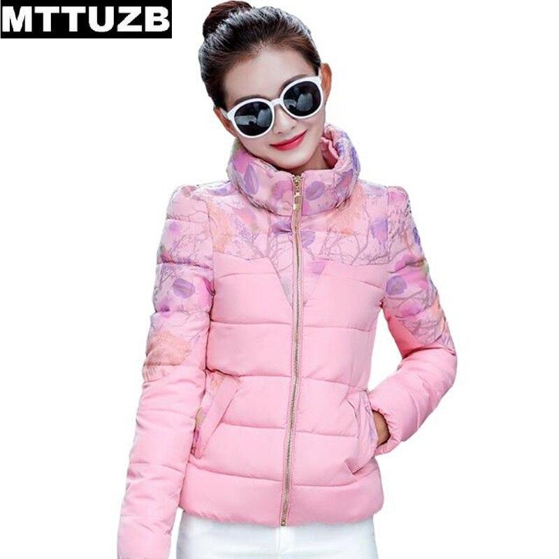 MTTUZB 2017 new autumn winter women fashion printed jacket ladys warm soft overcoat woman casual slim outwear female outwearОдежда и ак�е��уары<br><br><br>Aliexpress