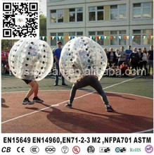 Floating inflatable bubble ball , inflatable water amusement equipment