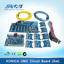 Best Price!!a set! large format printer konica 512i board umc main board and head board for konica 512i printhead