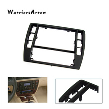 WarriorsArrow Black Dashboard Center Console Bezel Panel Radio Face Trim Frame Surround For VW Passat B5 2001 2005 3B0858069(China)