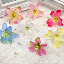 10 PCS/artificial silk flower heads home decoration DIY wedding wreath wreath collage lily adornment artificial flowers