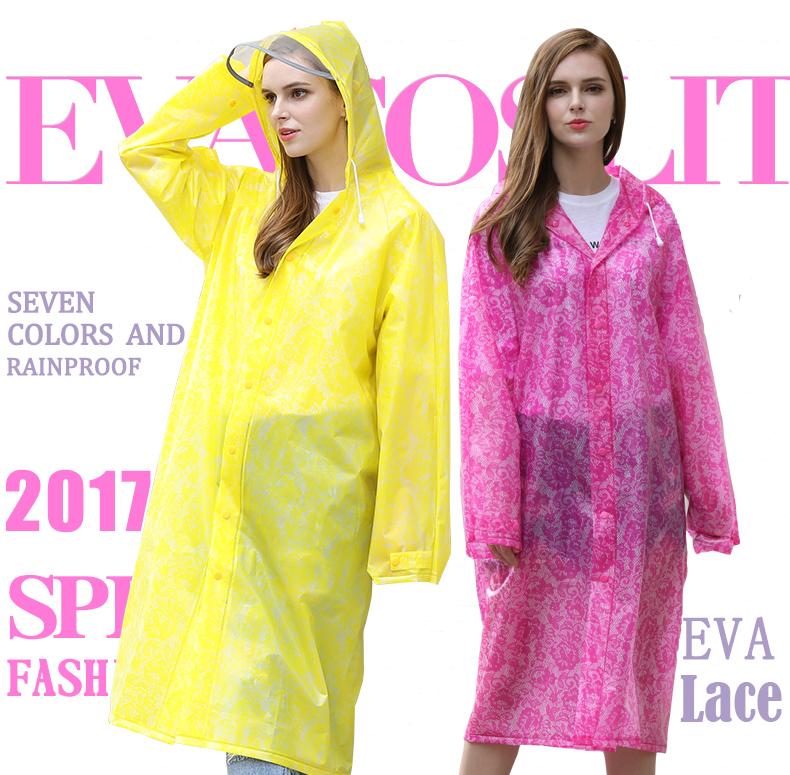 Women Lace Raincoats 20