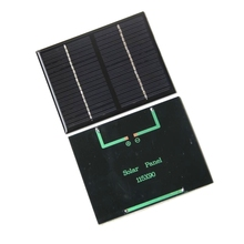 1.5W 18V Solar Cell Polycrystalline Solar Panel Solar Module DIY Solar Charger Education Study kits 115*90*3MM Free Shipping(China)
