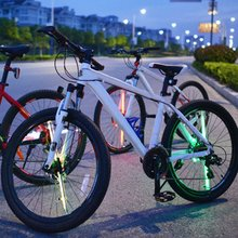 Design DIY USB Rechargeable Bike Bicycle Wheel Tire Light D020P Waterproof Colorful Wheel Light Night Light HOT Sale