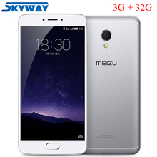 "Meizu MX6 MX 6 4G LTE 3GB RAM 32GB ROM Cell Phone MTK Helio X20 Deca Core 5.5"" IMX386 12MP Camera Mobile Phone(China)"