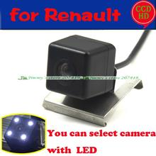 car Reverse Parking Rear View Car License Plate Light Camera Wireless wired for sony ccd Renault Duster 2013 LEDS night vision(China)