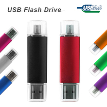 Smart Phone OTG USB Flash Drive 32gb 16gb 8gb 4gb Pendrive Tablet PC Pen Drive memory stick Micro USB 2.0 For Android Cellphone