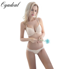 Oyadeal Women Underwear Sexy Bras Sets Cotton sleep Lace Bra And Panties No steel ring comfortable Briefs Lingerie bra set
