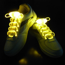 1 Pair Light up LED Luminous Shoelaces Athletic Sport Flat Shoes Laces for Boys Girl Fashion Luminous Shoe Strings