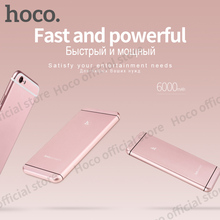 Buy HOCO 6000 mAh Portable Power Bank Single USB iPhone Samsung Xiaomi PowerBank External Battery Mobile Portable Charger for $22.40 in AliExpress store