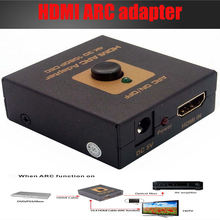 HDMI ARC adapter converter HDMI Audio Return Channel adapter Extractor Converter Splitter 4K 3D UK with optical audio