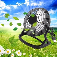 Notebook Laptop Computer Portable Super Mute PC USB Cooler Desk Mini Fan Black H #Y05# #C05#