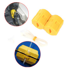 New Powermag Magnetic Fuel Saver Car Power Saver,XP-2,Vehicle Magnetic Fuel Saving Economizer Fuel Saver Yellow