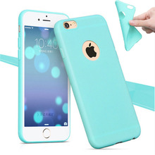 Phone Shell for Apple iPhone 6 6S / 5S 5 SE / 6 6S Plus Back Case Cover Candy Color Soft Silicone Cell Phone Cases for iPhone 6S