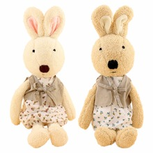 JESONN Dressed Stuffed Plush Bunnies Toys Animals Soft Easter Rabbits for Children's Gifts
