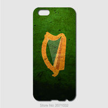 Coat of arms harp ireland Flag Case For iPhone 6 6S Plus 5S 5C 4S iPod Touch 5 4 For Samsung Galaxy S2 S3 S4 S5 Mini S6 S7 Edge(China)