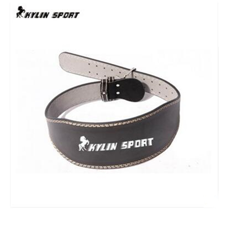 new sport leather  waist Support     high-grade leather weightlifting belt fitness belt squats  Mens bodybuilding long<br>