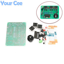 5pcs DIY Kits AT89C2051 Electronic Clock Digital Tube LED Display Suite Electronic Module Parts and Components DC 9V - 12V