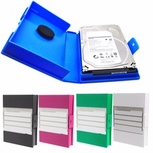 3.5 inch SATA IDE HDD Hard Drive External Enclosure Disk Box Case Protector