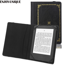 Universal Case Cover for 6inch Ereader for kobo for Kindle for Sony Pocketook Ereader embossed with author name(China)