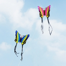 35 Inch Butterfly Kite Outdoor Toy Sport Gift for Kids Children With String Tail(China)