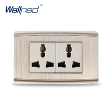 6 Pins Socket 2017 Hot Sale China Manufacturer Wallpad Luxury Wall Outlet(China)