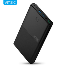 VINSIC High Quality Power Bank 30000 mAh High-end Imported Lithium Eexternal Battery Pack Power Supply For iphone 6 7 for Huawei(China)