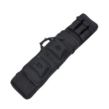 Nylon 120cm / 47.2in 600D Oxford Fabric Carry Bag Black Color Gun Protection Case PPT12-0015