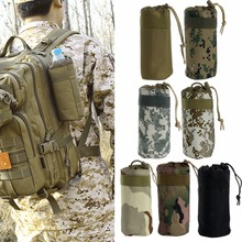THINKTHENDO Durable Military Water Bottle Bag Kettle Pouch Holder Travel Bag